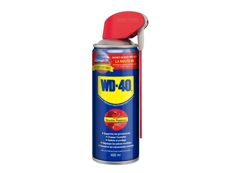 Spray WD-40 400 ml à double position