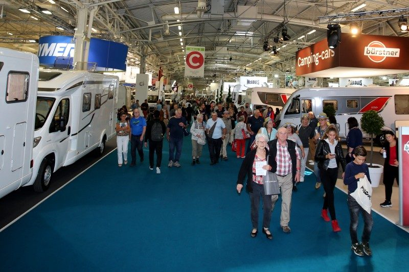 Belle affluence au dernier SVDL 2017 de Paris-Le Bourget