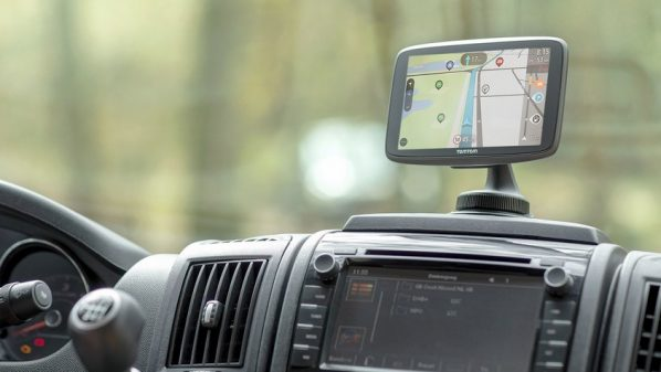 GPS TomTom GO Camper pour camping-car