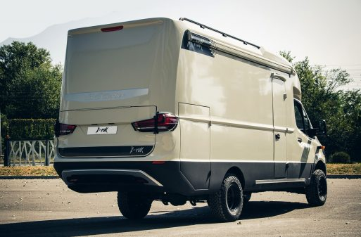 Cellule X-Rok 3C Cartier sur Mercedes Sprinter 4x4