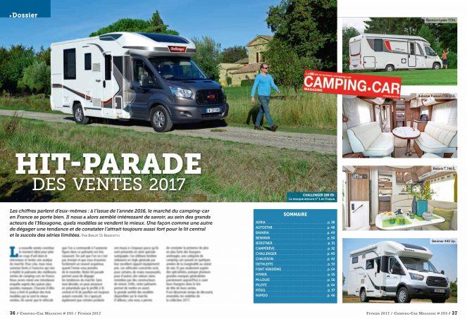 camping car magazine n 293 est arriv nos actus camping car magazine. Black Bedroom Furniture Sets. Home Design Ideas