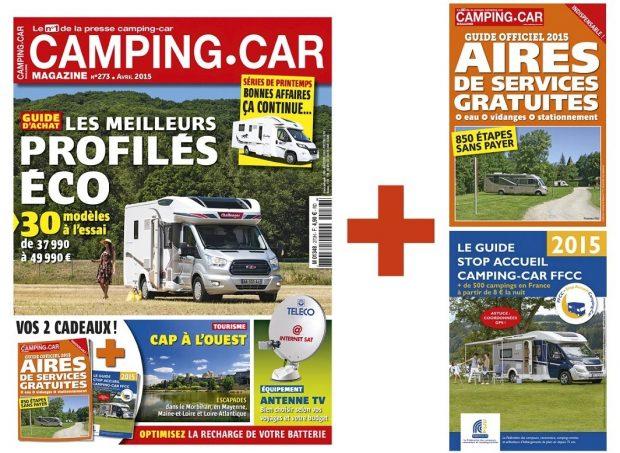 camping car magazine 2 guides en cadeau nos actus camping car magazine. Black Bedroom Furniture Sets. Home Design Ideas