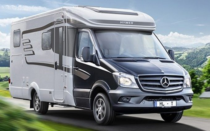 hymer d voile deux profil s sur mercedes actus des marques camping car magazine. Black Bedroom Furniture Sets. Home Design Ideas