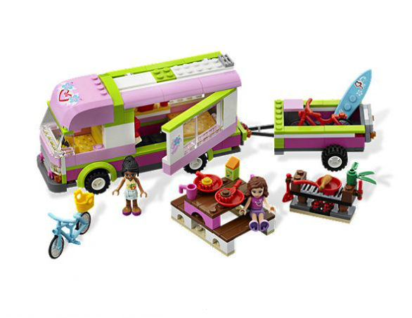 un camping car lego pour les filles nos actus camping car magazine. Black Bedroom Furniture Sets. Home Design Ideas