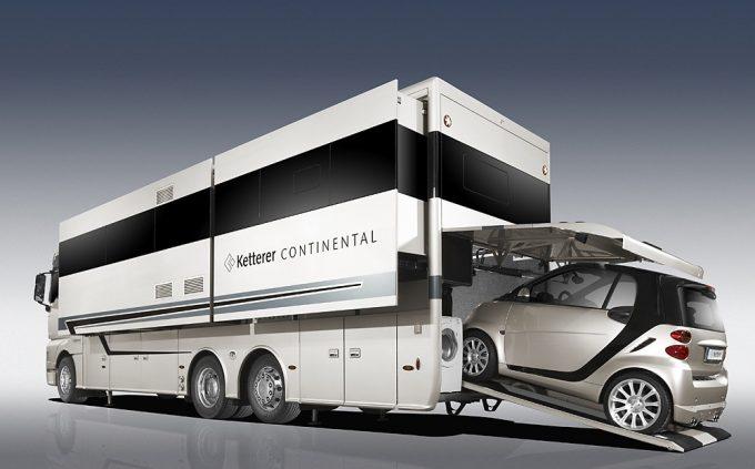 des camping cars super luxueux et s offrir quipements et accessoires camping car magazine. Black Bedroom Furniture Sets. Home Design Ideas
