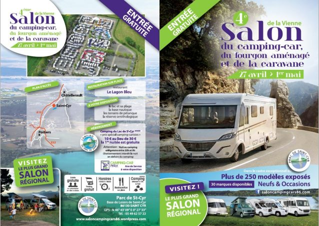 4 me salon de la vienne du camping car et du fourgon for Salon camping car rennes