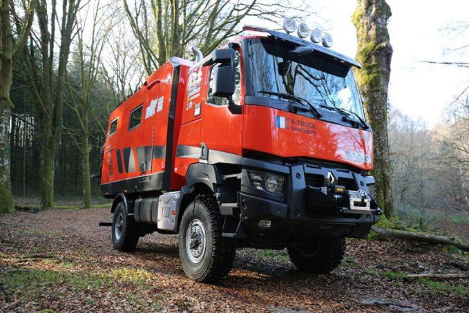 x truck vid o d 39 un camping car atypique nos actus camping car magazine. Black Bedroom Furniture Sets. Home Design Ideas