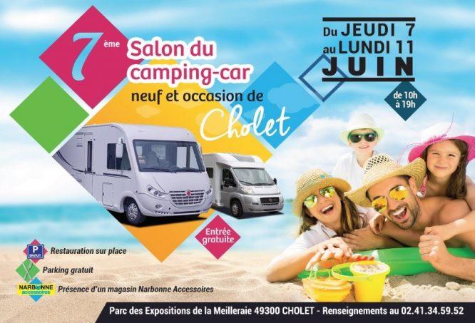 7 me salon du camping car de cholet camping car magazine. Black Bedroom Furniture Sets. Home Design Ideas