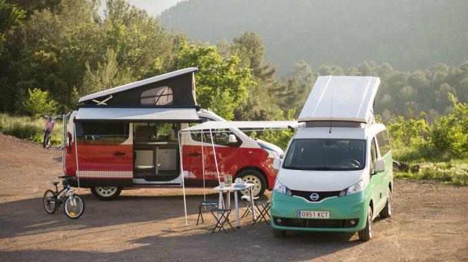 un camping car lectrique chez nissan actus des marques. Black Bedroom Furniture Sets. Home Design Ideas