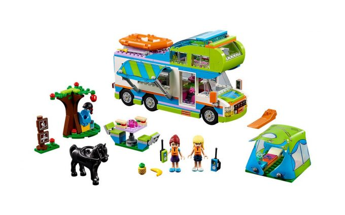 id e cadeau le camping car lego 448 briques nos actus camping car magazine. Black Bedroom Furniture Sets. Home Design Ideas