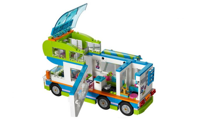 le nouveau camping car en lego de mia quipements et accessoires camping car magazine. Black Bedroom Furniture Sets. Home Design Ideas