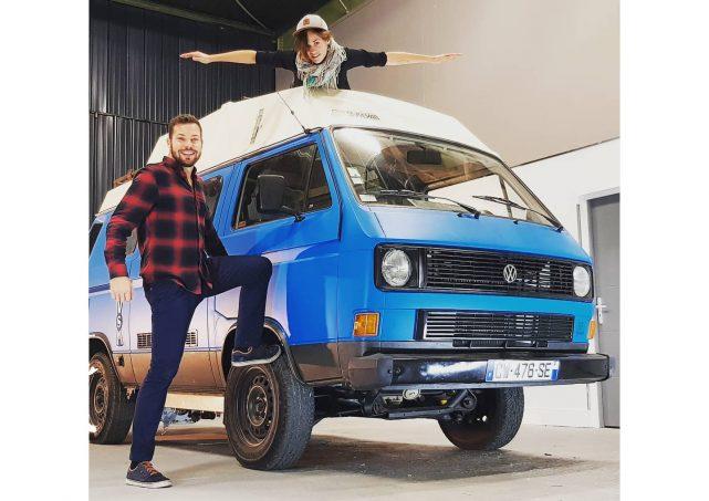 Fourgon aménagé : ils transforment un van Volkswagen en 100 % électrique - Actus des marques   Camping-car Magazine