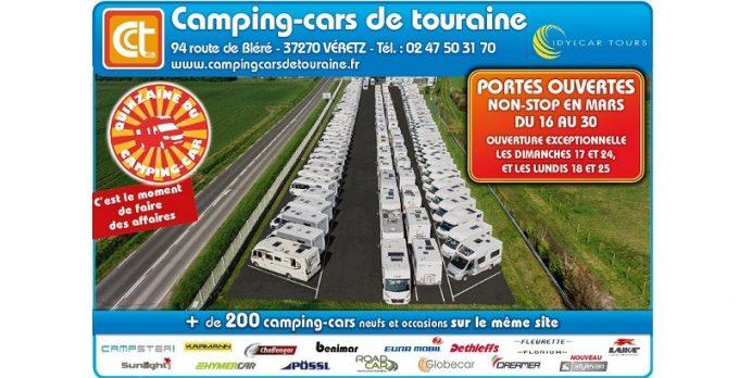 Portes ouvertes chez camping cars de touraine camping car magazine - Porte ouverte camping car ...