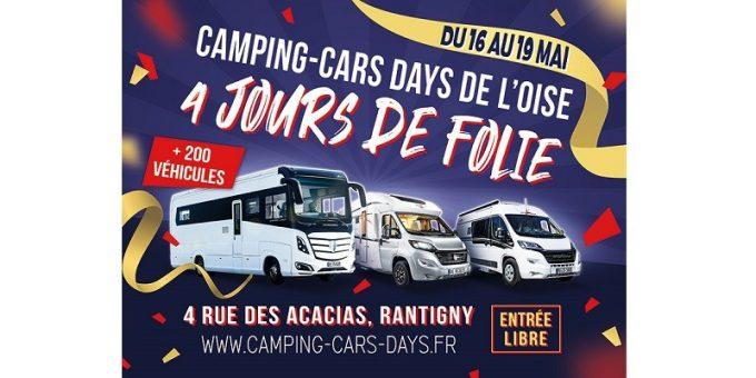 baskets pour pas cher Vente au rabais 2019 femme Camping-Cars Days de l'Oise | Camping-car Magazine