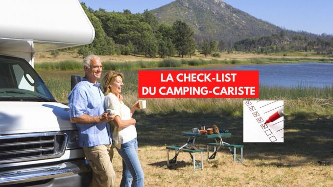 La check-list du camping-cariste