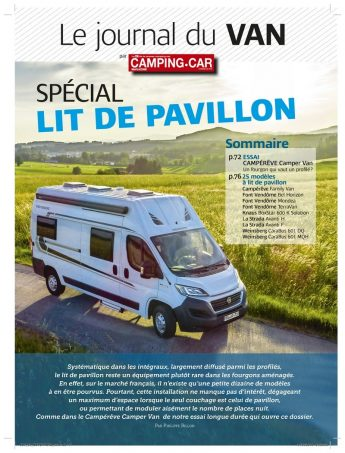 camping car magazine n 308 est en kiosque nos actus camping car magazine. Black Bedroom Furniture Sets. Home Design Ideas