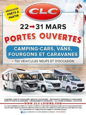 Portes ouvertes chez clc loisirs camping car magazine - Porte ouverte camping car ...