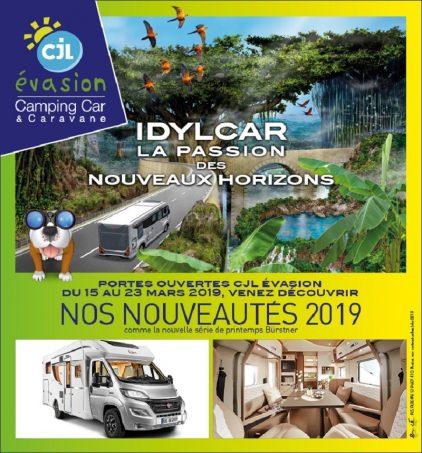 Portes ouvertes chez cjl evasion camping car magazine - Porte ouverte camping car ...